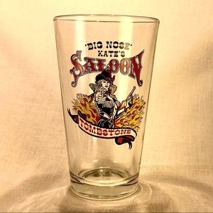 Big Nose Kate's Saloon Bar glass Tombstone AR